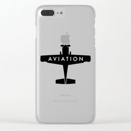 Aviation Clear iPhone Case