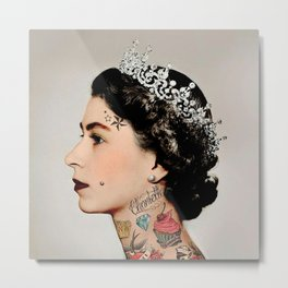 Rebel Queen Metal Print