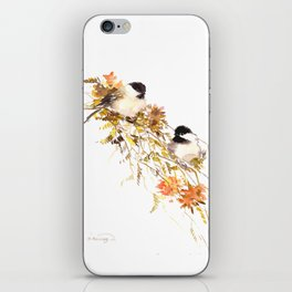 Chickadees iPhone Skin