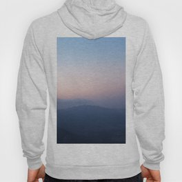 Blue Hills at Sunset Hoody
