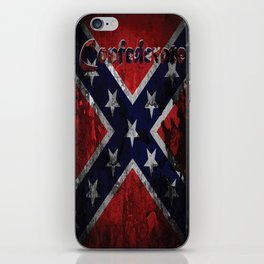 Distressed Confederate Flag iPhone Skin