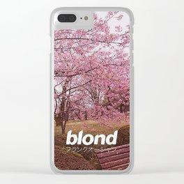 FrankOcean Blond Clear iPhone Case