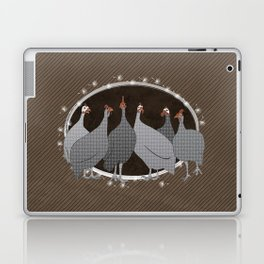 Helmeted Guineafowl Laptop & iPad Skin
