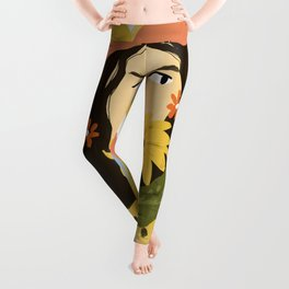Sunflowers In Your Face Leggings