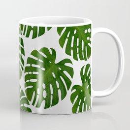 Monstera Leaf II Coffee Mug