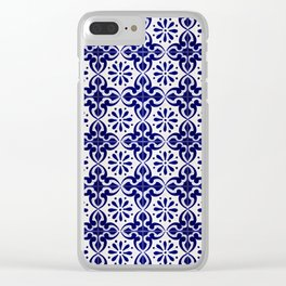 Tiles - IV Clear iPhone Case