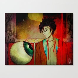 Subway Night Canvas Print
