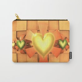 Hearts & Bows Carry-All Pouch