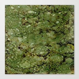 Green Camo Canvas Print