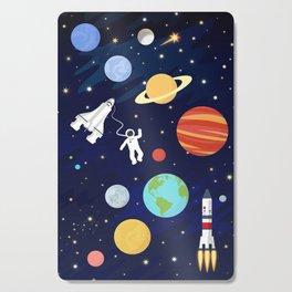 In space Cutting Board