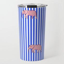 strip and elephants (https://society6.com/vickonskey/collection) Travel Mug