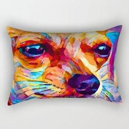Chihuahua 2 Rectangular Pillow