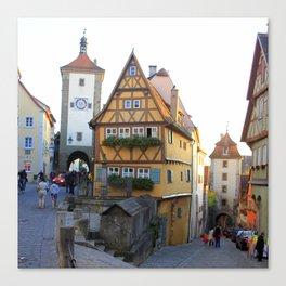 Rothenburg20150902 Canvas Print