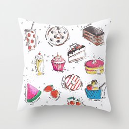 Cake Love Throw Pillow