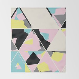 triangle no.3 / with love Throw Blanket