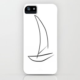 I would rather be sailing iPhone Case