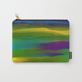 Green Mardi Gras Abstract Carry-All Pouch