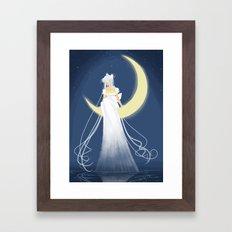 Moon Princess Framed Art Print