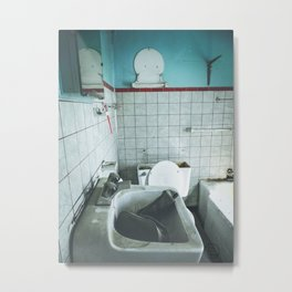 Wash Your Hands, Brush Your Teeth Metal Print