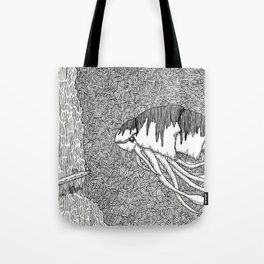 Kraken Shrimp Tote Bag