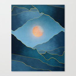 Surreal sunset 03 Canvas Print