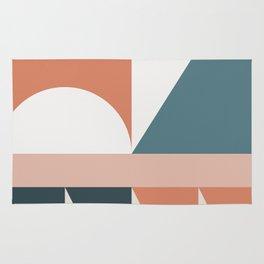 Cirque 03 Abstract Geometric Rug