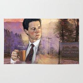 Twin Peaks , Agent Cooper Rug