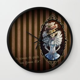 Retrò style Wall Clock