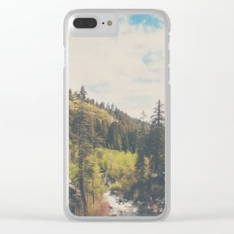 into the wild ...  Clear iPhone Case