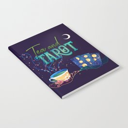 Kelly-Ann Maddox Collection :: Tea and Tarot (Illustrated) Notebook