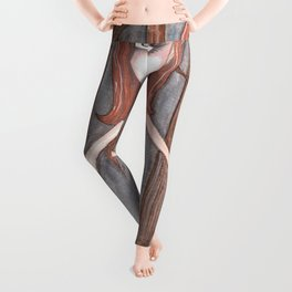 Red Deer fae Leggings