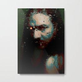The machine - by Brian Vegas Metal Print