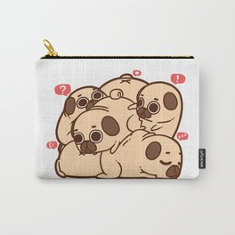 Puglie Grumblie Carry-All Pouch