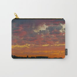 green point sunset Carry-All Pouch