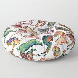 Reverse Mermaids Floor Pillow
