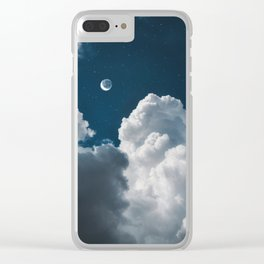 entre algodones Clear iPhone Case