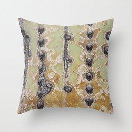 Cactus Texture Throw Pillow