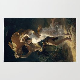 The Storm By Pierre Auguste Cot Rug