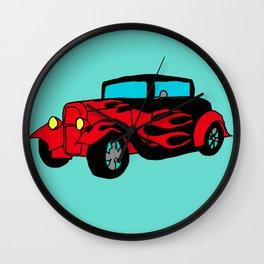 Hot Wheels Wall Clock