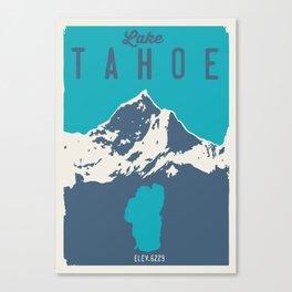 Lake Tahoe. Canvas Print