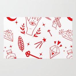 Magic symbols Rug