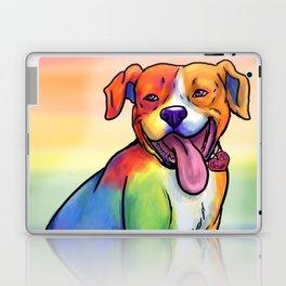 Gay Pride Pups Laptop & iPad Skin