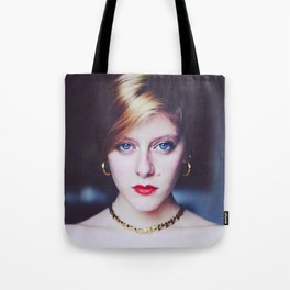 The Golden Lady. Tote Bag