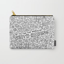 THE FUN WOLRD of KEITH HARRING Carry-All Pouch