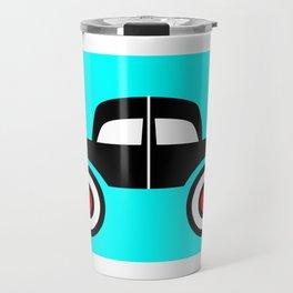 Black Car Two Directions Travel Mug