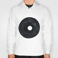 vinyl Hoodies featuring Vinyl by Stacy Innerst