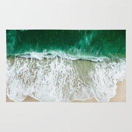 miami beach aerial view Rug