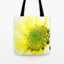 Yellow Daisy Macro Nature Photography Tote Bag
