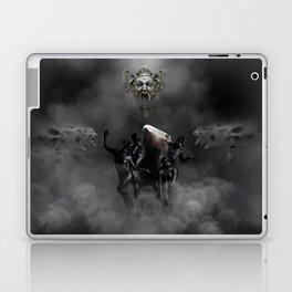Laughing at my disaster Laptop & iPad Skin