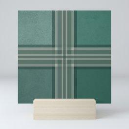 Shades of green Mini Art Print